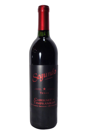 Segundo Texas Cabernet Tempranillo- Dry Red Wine